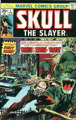 SKULL THE SLAYER #1 VG, Gil Kane c., Origin, water damage, Marvel Comics 1975