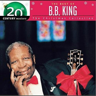 """B.B. KING, CD """"20th CENTURY MASTERS"""" THE CHRISTMAS COLLECTION, NEW SEALED"""