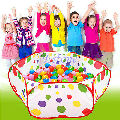 Foldable Kids Ocean Children Pool Ball Pit Game Play Toy Tent Baby Safe Playpen