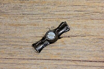 """Jelly cupboard cabinet 1 3/4""""bow tie turn button latch old vintage stock NOS"""