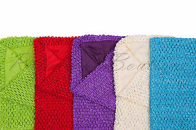 Tutu supplies lined crochet tutu tube top size 8 x 10 inches or 10 x 12 inches