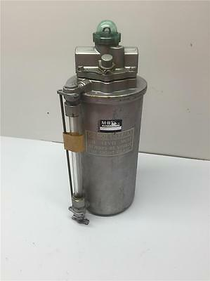 "MB DETROIT Industrial Compressor Pneumatic Air Line 2L106-49 Lubricator 3/8"" NPT"