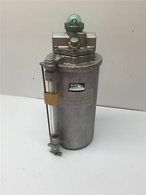 "MB DETROIT Norgren Compressor Pneumatic Air Line 2L106-49 Lubricator 3/8"" NPT"