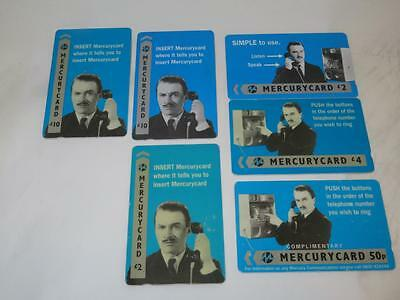 MERCURY COMMUNICATIONS Phonecard Harry Enfield SELECTION AVAILABLE