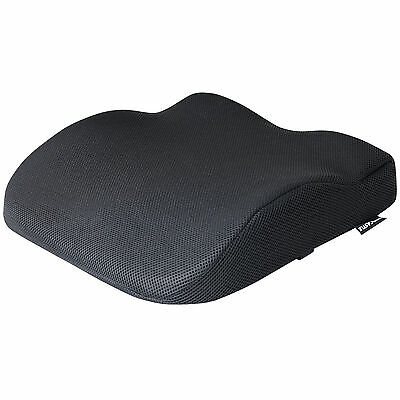 Black Memory Foam Lower Seat Base Posture Support Seat Cushion Car/home/office
