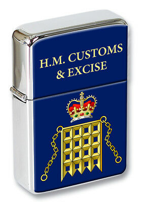HM Customs Flip Top Lighter