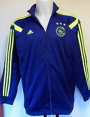 Ajax 2014/15 Anthem Jacket By Adidas Adults Size Xl Brand New With Tags