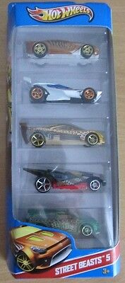 Mattel Hot Wheels Geschenk-Set Imagination Street Beasts 5