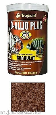 D-Allio Plus Slow Sinking Granulat For Fish With High Nutritional Needs