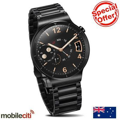 Huawei W1 Watch Stainless Steel Link - Black - [Au Stock]
