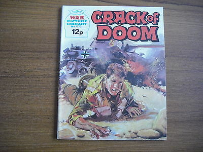 WAR PICTURE LIBRARY  - No. 1525 - CRACK OF DOOM - 1978