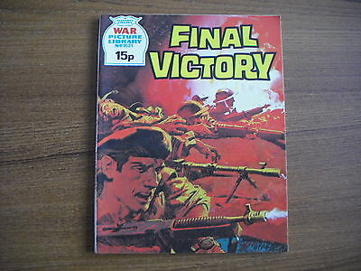 WAR PICTURE LIBRARY  - No. 1631 - FINAL VICTORY - 1979