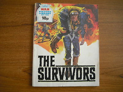 WAR PICTURE LIBRARY  - No. 1789 - THE SURVIVORS - 1980