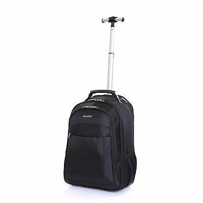Karabar Wheeled Laptop Trolley Suitcase Cabin Luggage Backpack Rucksack Case Bag