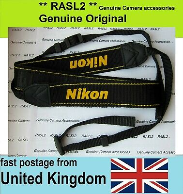 New Genuine Original Nikon Neck Shoulder Strap D5500 D3300 D3400 AN-DC1 ANDC1