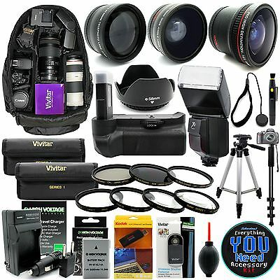 Everything You Need Accessory Kit for Nikon D5300 D5200 D5100 Digital SLR Camera