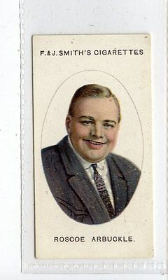 (Jc4391-100)  SMITH,CINEMA STARS,ROSCOE ARBUCKLE,1920,#2