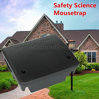 Professional Home Rodent Bait Block Station Box Case Trap With Key For Rat Mouse