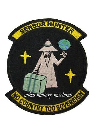 NRO Sensor Hunter Area 51 Military Intelligence Space Black Ops Covert Patch New