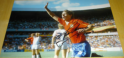 Emilio Butragueno Spain Personally Signed Autograph 12X8 Photo Soccer