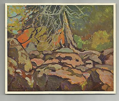 Northland Autumn, Franz H. Johnston, Rous & Mann Press Ltd., Art Calendar, 1964.