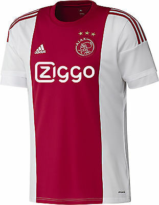Adidas Ajax Home 2015/16 Mens Football Shirt - Red