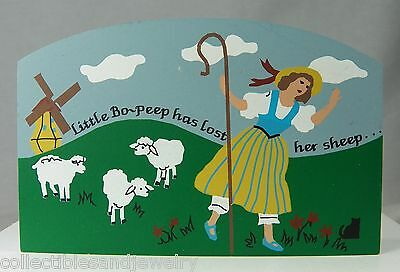 Cat's Meow Village Collectible Little Bo Peep 284 Nursery Rhyme Accessory 1997