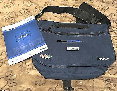 2008 eBay PayPal Collectible Developer's Conference Laptop Bag & 2 Books & Pen