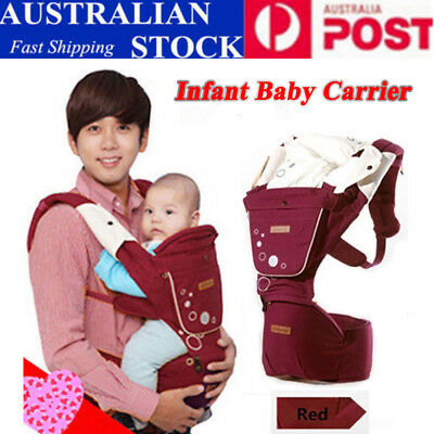 Removable Baby Carrier Sling Waist Belt Hip Seat Chair Infant Toddler Carrier AU