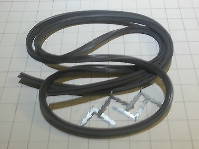 Universal Full  Oven Door Seal 2Mtr Long With 4X Cnr Hooks Just Cut To Size