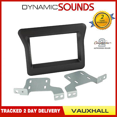 CT23VX53 Double Din Car Stereo Fascia Panel Adaptor For Vauxhall Movano 2010>