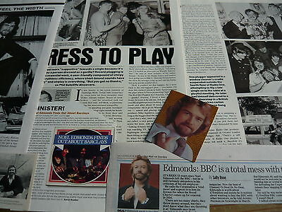 Noel Edmonds - Magazine Cuttings Collection (Ref Z8)