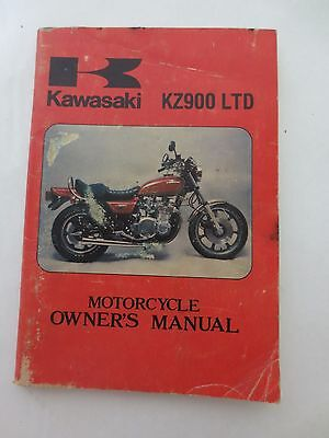 Kawasaki Kz900 Ltd Owner's Manual