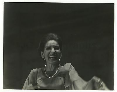 Maria Callas - Vintage 11x14 by Peter Warrack - Previously Unpublished