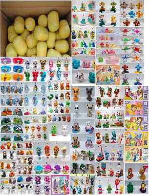 25 DIFFERENT KINDER SURPRISE EGGS (TOYS, no chocolate) IN SHELLS FOR GIRLS