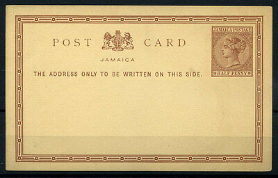 15-10-00812 - Jamaica 1890 Mi.  1 POS 100% Postal stationery - Post Card