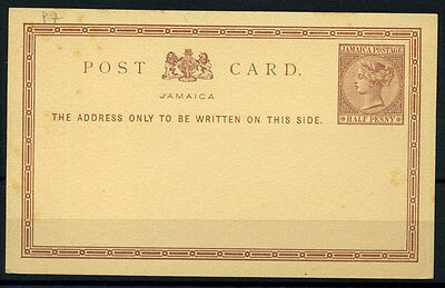 15-10-00815 - Jamaica 1890 Mi.  P7 POS 100% Postal stationery - Post Card