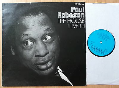 Paul Robeson Ddr Eterna  Lp: The House I Live In (830099)