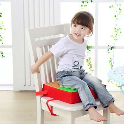 Colorful Child Kids Portable Dinner Chair Booster Soft Seat Cushion Pads