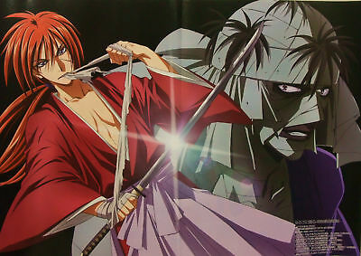 Rurouni Kenshin / Guilty Crown poster promo anime official