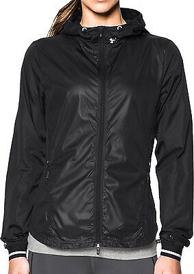 Under Armour Storm Layered Up Ladies Running Jacket - Black