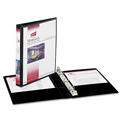 """""""Avery Mini Size Durable View Binder W/round Rings 5 1/2 X 8.5 1/2"""""""" Cap Black"""""""
