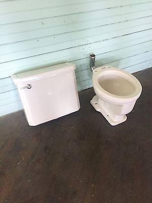 1937 Antique Crane Neuton Trentonian Toilet