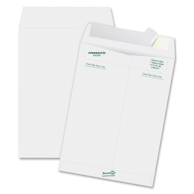 """SURVIVOR Tyvek Mailer, Side Seam, 10 x 13, White, 50Box, BX - QUAR1582"""
