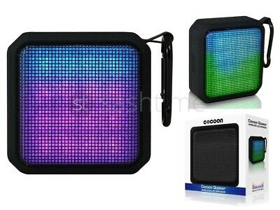 Cocoon Quasar Bluetooth Wireless Portable Speaker Dancing Led Lights Iphone
