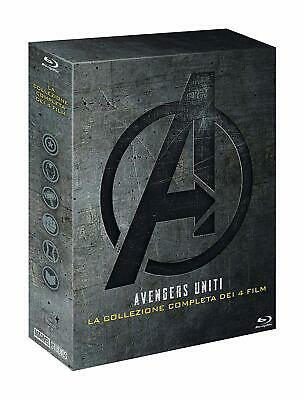 Blu Ray Avengers - Collection Quadrilogia 1-4 (5 Blu-Ray) . Marvel ......NUOVO