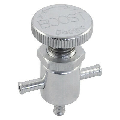 Forge Universal In Car/Vehicle Boost Control Valve In Silver Polished - FMICB051