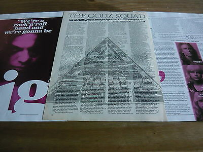 The Godz - Magazine Cuttings Collection (Ref E8)