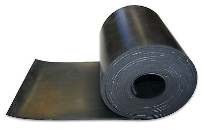 Solid Ply Reinforced Insertion Side Skirt Neoprene Rubber Strip Various Sizes