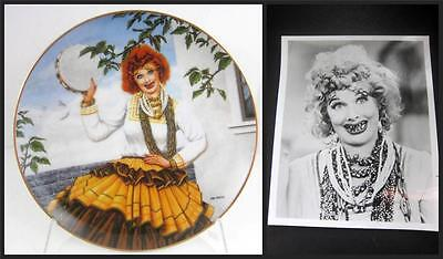 Hamilton I Love Lucy Plate QUEEN of GYPSIES Signed Box Lucie Arnaz New Lucille